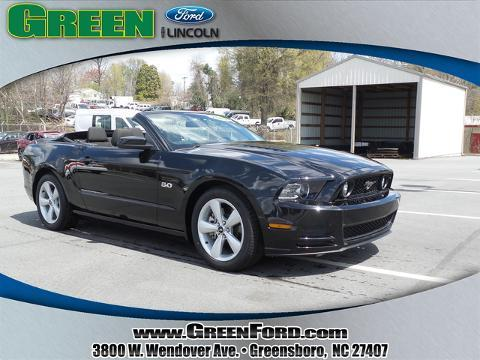 2013 Ford Mustang GT Convertible for sale in Greensboro for $29,999 with 37,527 miles
