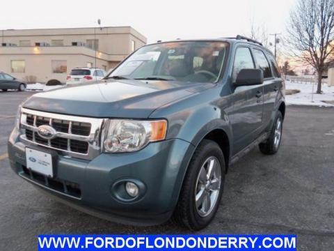 2012 Ford Escape XLT SUV for sale in Londonderry for $17,498 with 59,285 miles.