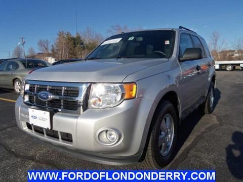 2012 Ford Escape XLT SUV for sale in Londonderry for $19,900 with 34,983 miles.