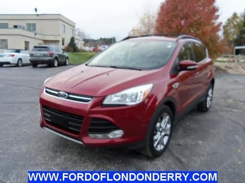2013 Ford Escape SEL SUV for sale in Londonderry for $23,800 with 23,784 miles.