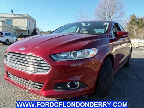 2014 Ford Fusion SE Sedan for sale in Londonderry for $22,900 with 14,552 miles