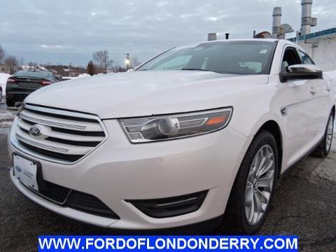 2014 Ford Taurus Limited Sedan for sale in Londonderry for $25,900 with 10,035 miles