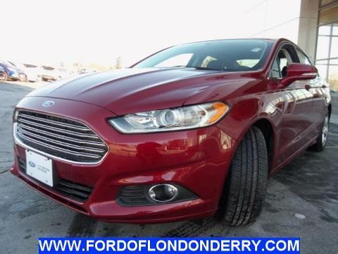 2014 Ford Fusion SE Sedan for sale in Londonderry for $20,870 with 7,755 miles