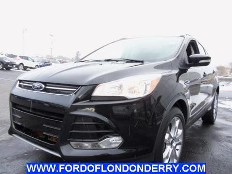 2014 Ford Escape Titanium SUV for sale in Londonderry for $25,989 with 21,078 miles.