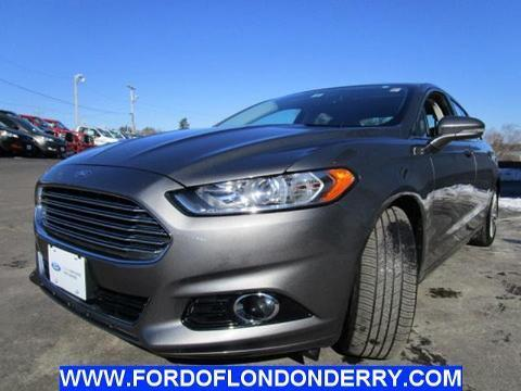 2013 Ford Fusion Titanium Sedan for sale in Londonderry for $25,900 with 12,093 miles