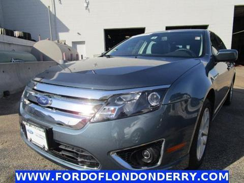 2012 Ford Fusion SEL Sedan for sale in Londonderry for $19,900 with 15,375 miles