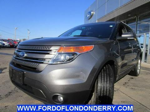 2013 Ford Explorer Limited SUV for sale in Londonderry for $36,999 with 22,253 miles