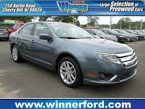 2012 Ford Fusion SEL Sedan for sale in Cherry Hill for $18,495 with 28,902 miles.