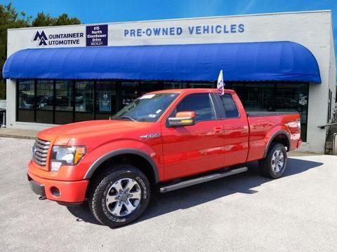2011 Ford F150 FX4 Extended Cab Pickup for sale in Beckley for $31,744 with 22,475 miles.