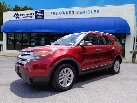 2014 Ford Explorer XLT SUV for sale in Beckley for $28,995 with 23,928 miles.