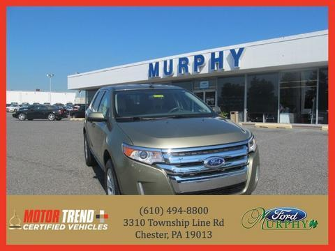2012 Ford Edge SEL SUV for sale in Chester for $23,500 with 18,305 miles.