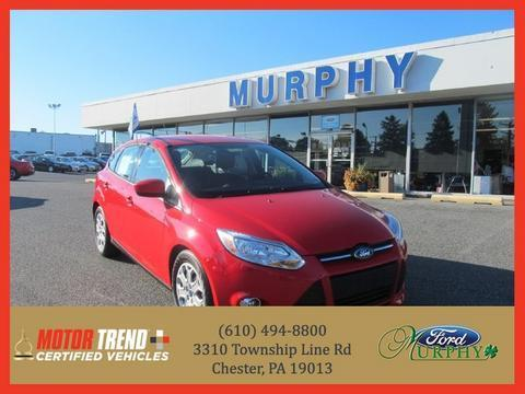2012 Ford Focus SE Hatchback for sale in Chester for $13,995 with 35,188 miles.