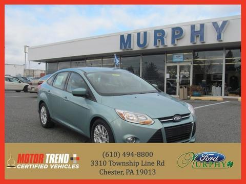 2012 Ford Focus SE Sedan for sale in Chester for $12,995 with 42,361 miles.