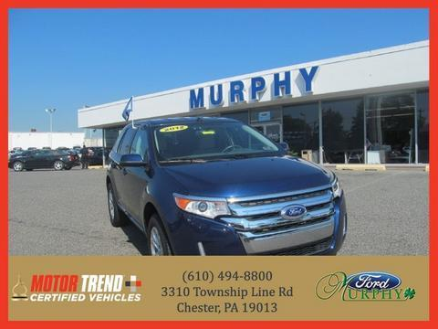 2012 Ford Edge SEL SUV for sale in Chester for $25,995 with 20,791 miles.