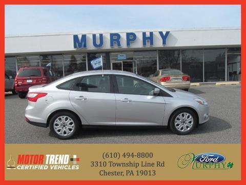 2012 Ford Focus SE Sedan for sale in Chester for $13,994 with 20,664 miles.
