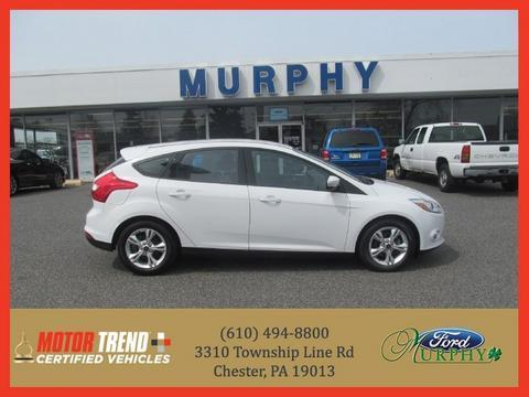 2012 Ford Focus SE Hatchback for sale in Chester for $14,295 with 29,795 miles.