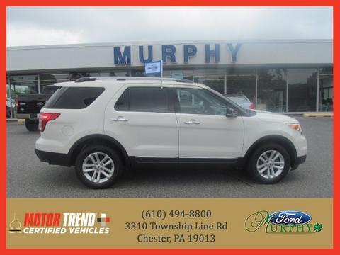 2012 Ford Explorer XLT SUV for sale in Chester for $29,995 with 24,537 miles.