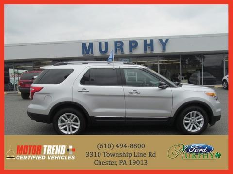 2012 Ford Explorer XLT SUV for sale in Chester for $26,895 with 24,912 miles.