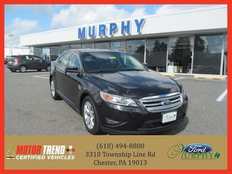 2011 Ford Taurus SEL Sedan for sale in Chester for $17,895 with 45,681 miles.