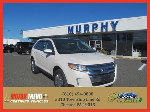2013 Ford Edge SEL SUV for sale in Chester for $24,395 with 16,502 miles.