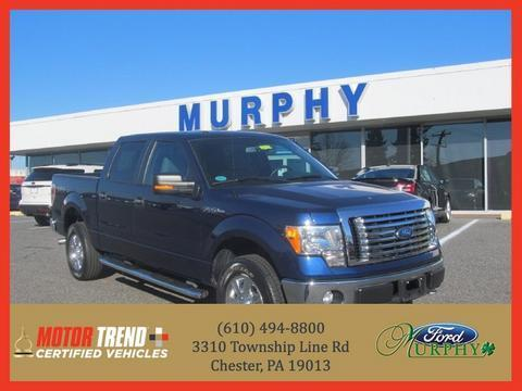 2011 Ford F150 XLT Crew Cab Pickup for sale in Chester for $31,495 with 24,796 miles.