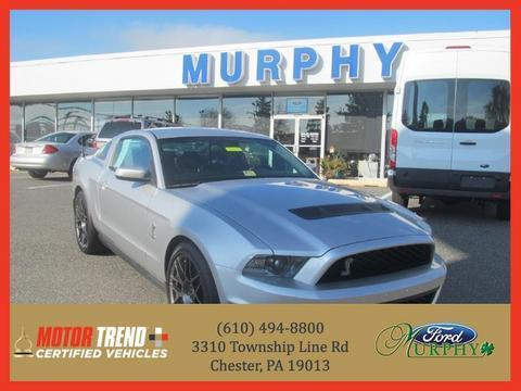 2012 Ford Mustang Shelby GT500 Coupe for sale in Chester for $46,995 with 13,622 miles.