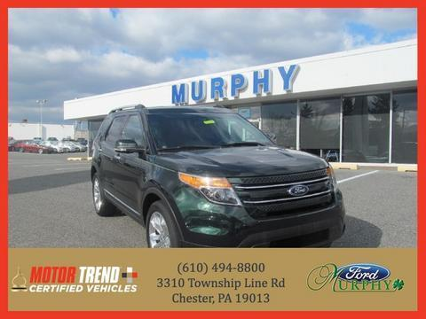 2013 Ford Explorer Limited SUV for sale in Chester for $31,695 with 31,494 miles.