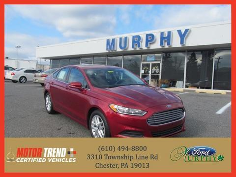 2013 Ford Fusion SE Sedan for sale in Chester for $19,995 with 9,600 miles.