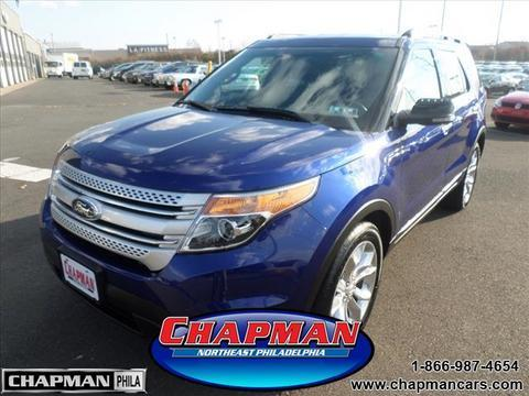 2013 Ford Explorer XLT SUV for sale in Philadelphia for $27,500 with 27,165 miles.