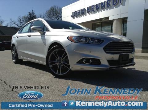 2013 Ford Fusion Titanium Sedan for sale in Phoenixville for $22,300 with 21,265 miles