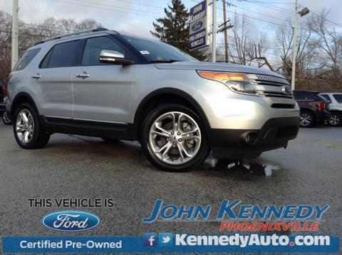 2015 Ford Explorer Limited SUV for sale in Phoenixville for $35,900 with 12,703 miles.