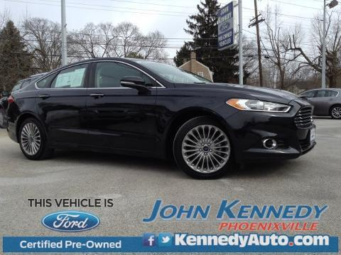 2014 Ford Fusion Titanium Sedan for sale in Phoenixville for $23,200 with 15,972 miles.