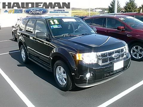 2012 Ford Escape XLT SUV for sale in Kutztown for $19,995 with 38,848 miles.