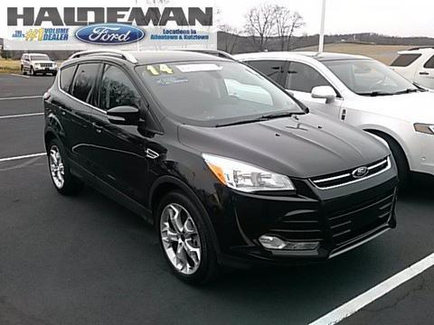 2014 Ford Escape Titanium SUV for sale in Kutztown for $26,395 with 14,565 miles.