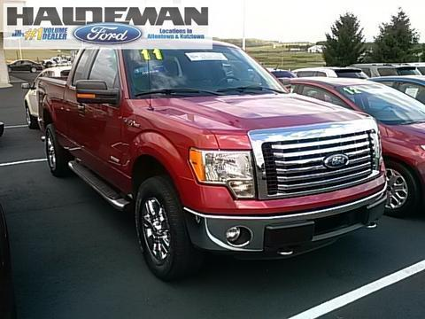 2011 Ford F150 XLT Extended Cab Pickup for sale in Kutztown for $27,495 with 44,327 miles.