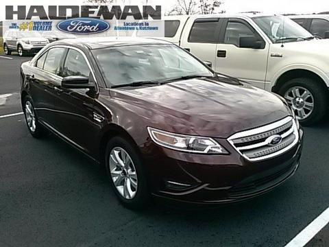 2012 Ford Taurus SEL Sedan for sale in Kutztown for $18,495 with 28,643 miles.