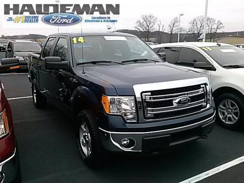 2014 Ford F150 XLT Crew Cab Pickup for sale in Kutztown for $30,295 with 14,935 miles.