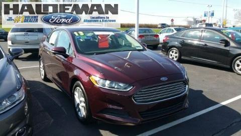 2013 Ford Fusion SE Sedan for sale in Kutztown for $18,995 with 19,248 miles