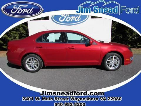 2011 Ford Fusion SEL Sedan for sale in Waynesboro for $13,980 with 56,659 miles