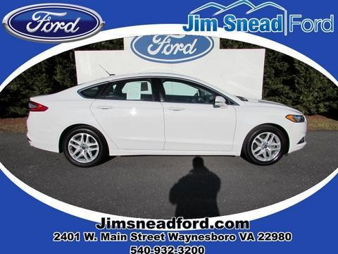 2014 Ford Fusion SE Sedan for sale in Waynesboro for $17,980 with 26,234 miles
