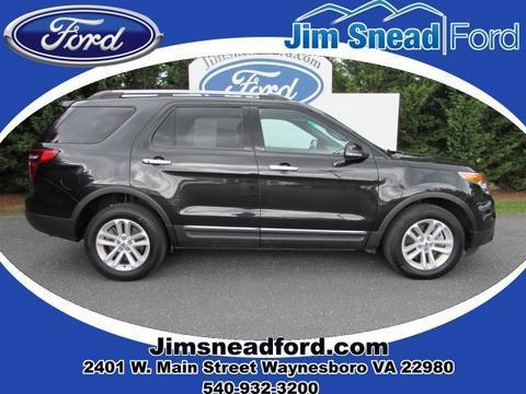 2013 Ford Explorer XLT SUV for sale in Waynesboro for $28,980 with 31,999 miles.