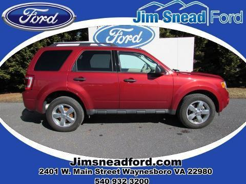 2012 Ford Escape XLT SUV for sale in Waynesboro for $20,980 with 25,892 miles.