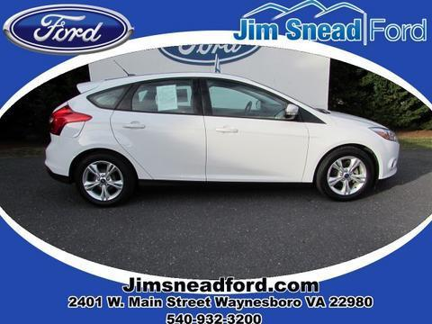 2013 Ford Focus SE Hatchback for sale in Waynesboro for $15,480 with 27,170 miles