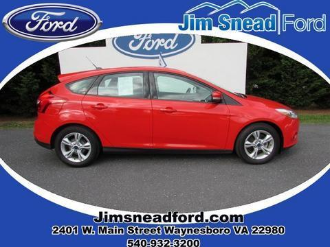 2013 Ford Focus SE Hatchback for sale in Waynesboro for $15,480 with 34,077 miles