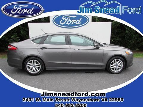 2013 Ford Fusion SE Sedan for sale in Waynesboro for $18,480 with 33,939 miles.