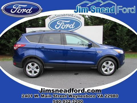 2013 Ford Escape SE SUV for sale in Waynesboro for $19,991 with 28,179 miles.