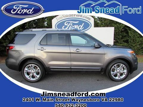 2014 Ford Explorer Limited SUV for sale in Waynesboro for $35,980 with 16,316 miles.