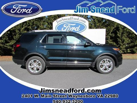 2014 Ford Explorer Limited SUV for sale in Waynesboro for $33,980 with 21,052 miles