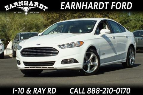 2013 Ford Fusion Hybrid SE Hybrid Sedan for sale in Chandler for $28,999 with 16,814 miles.