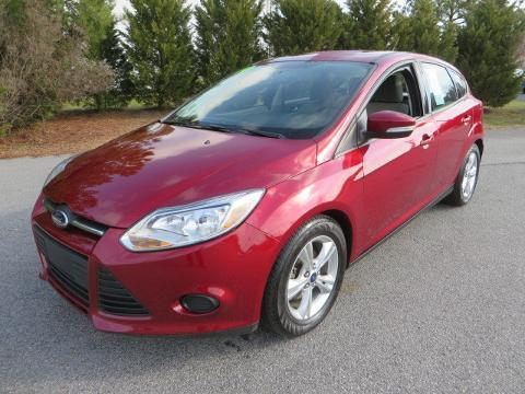 2014 Ford Focus SE Hatchback for sale in Smithfield for $15,428 with 23,877 miles